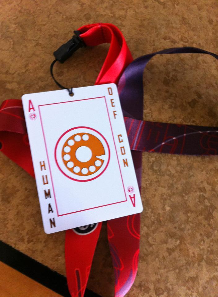 DefCon 21 Badge