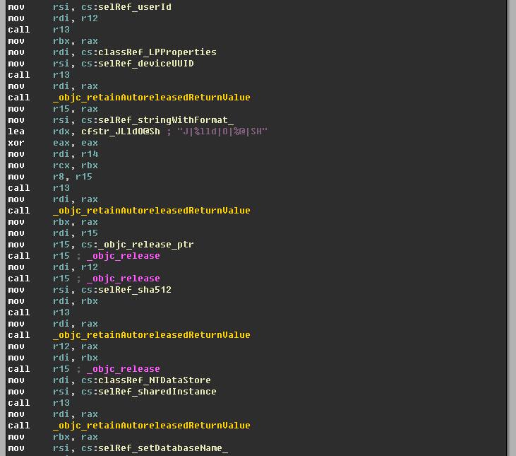 Generating DB File Name