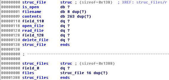 file struct